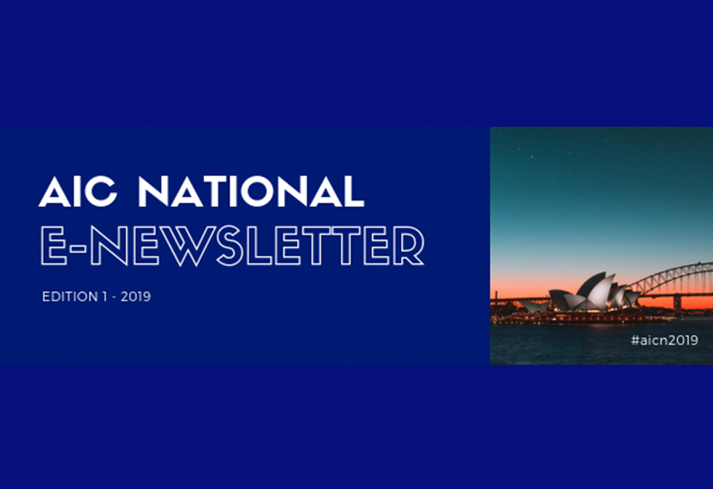 AIC National Newsletter Edition 1 2019